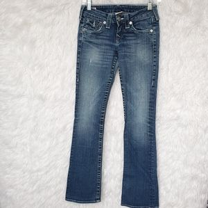 True Religion Becky Bootcut Jeans 25